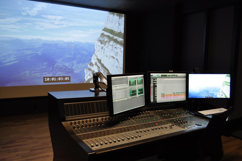 Studio Enregistrement Mixage Télévision